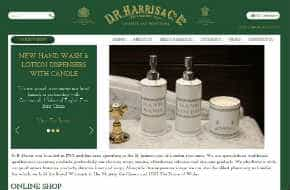 ecommerce marketing and optimisation for DR Harris London pharmacy