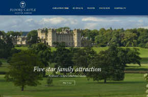 search engine optimisation and marketing for Floors Castle