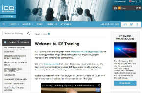 Website optimisation for ICE Training engineering training